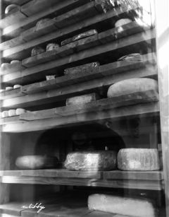storefront throughthewindow reflection cheeseheaven cheese