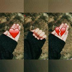 love desamor corazonroto alone sad freetoedit