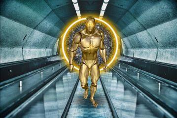 freetoedit robot gold alternateuniverse portal