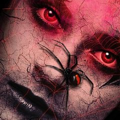 simple edit awesome halloween blackwidowspider freetoedit