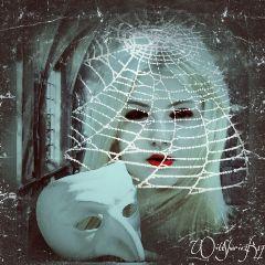 masks spooky gothicart lomo