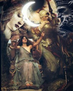 zeus greekmythology queen moon art