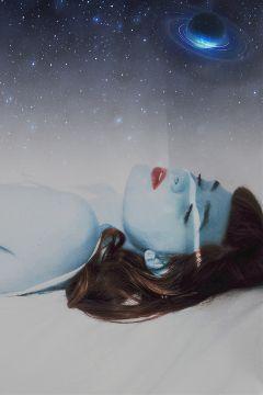 alien teenalien fiction fantasy blue freetoedit