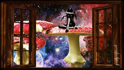 freetoedit wiew window stars galaxy