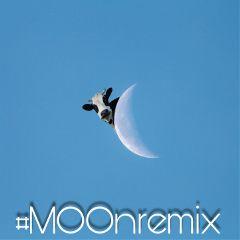 moonremix moon cow moo heydiddlediddle freetoedit