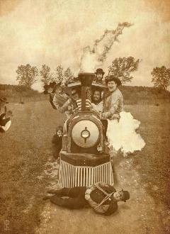 oldwestfestival train trainrobbery oldwest villains freetoedit