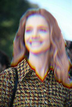 glitch blur ghost halloween freetoedit