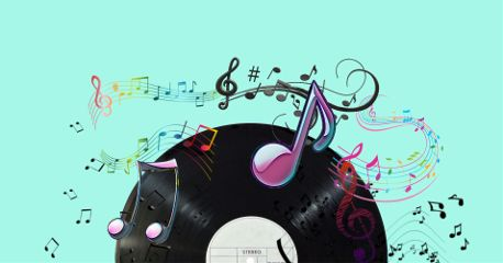 freetoedit edited music notes collage