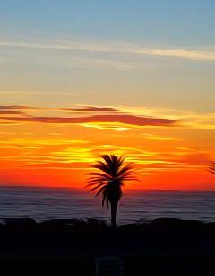 oilpainting sunset beach