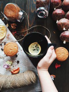freetoedit confort tea autumn уют