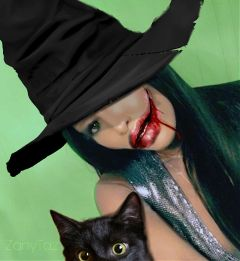 freetoedit naomicampbell model photomanipulation halloween