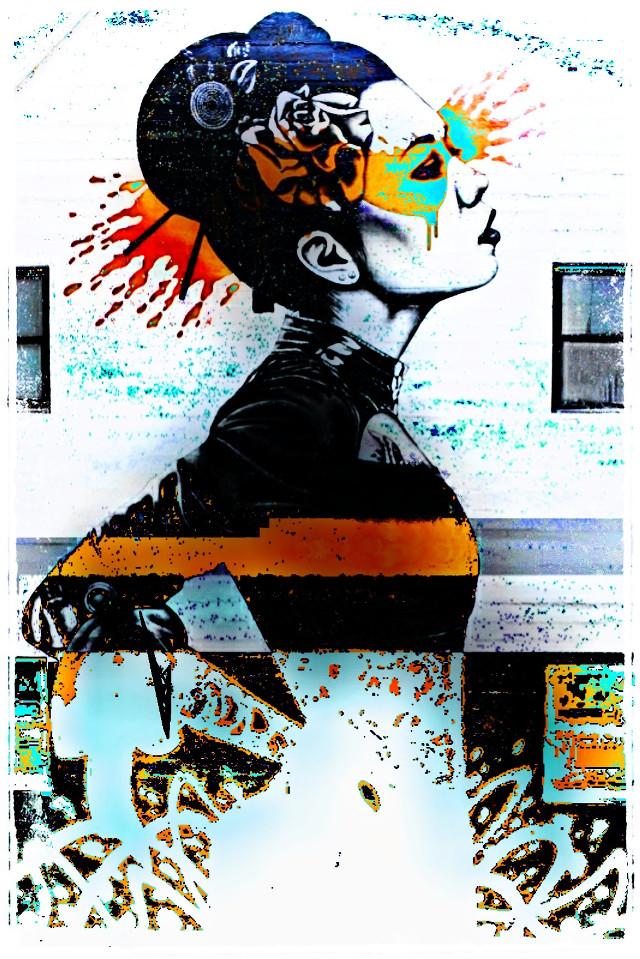 #findac #streetart #mural #remix #edit