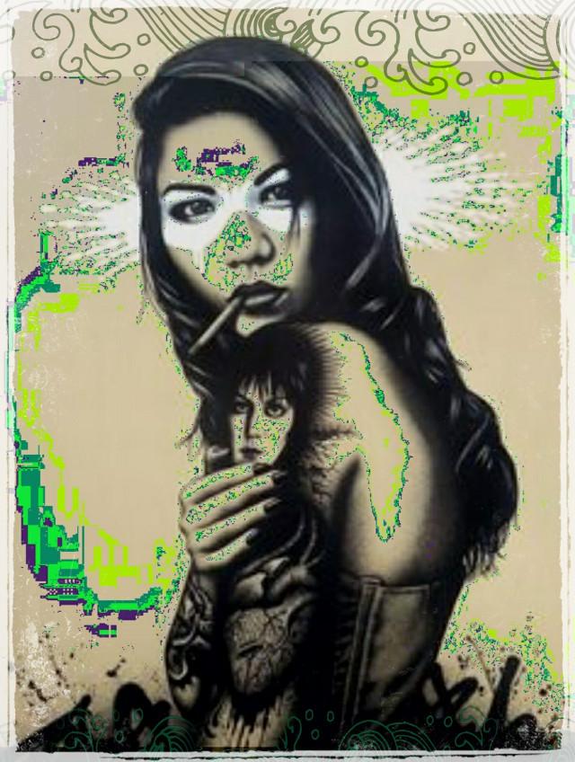 #findac#edit#streetart#badass