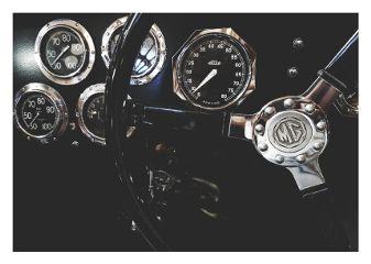landscape retro vintage old dials