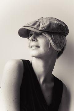 woman portrait streetphotography monochrome blackandwhite