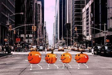 freetoedit urban street pumpkin city