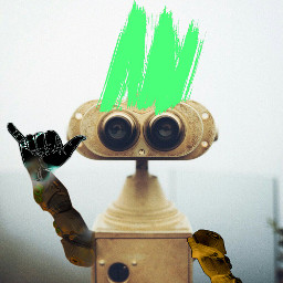 dailyremix robot hangten cool binocular freetoedit