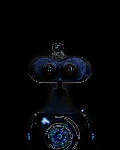 freetoedit dailyremixmechallenge dailyremix robot neon