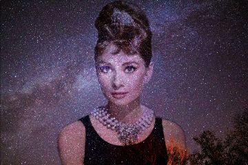 freetoedit meteorshower aubreyhepburn star estrelado