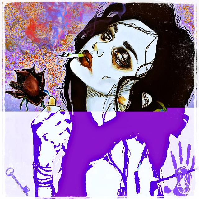 #harumihironaka #darkart #anime #remix