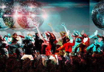 freetoedit remixoftheday dancing discoball dancers
