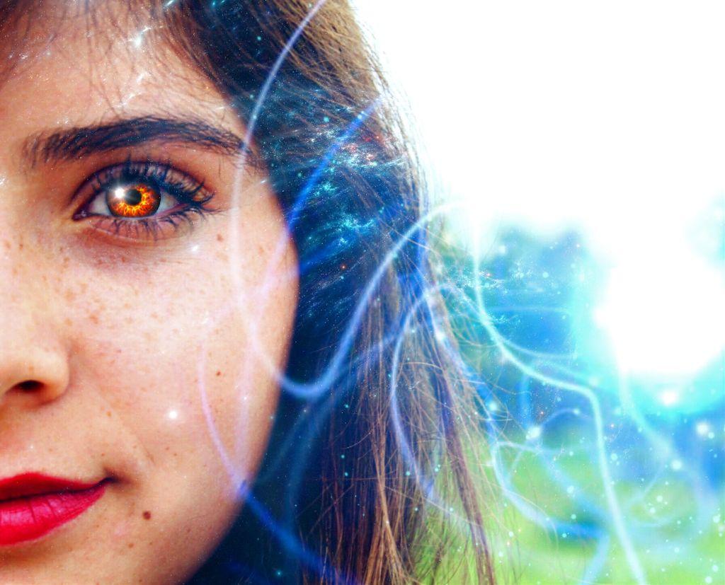 #orb #light #eye #glare #enchance #color #photography #girl #hair #surreal #fantasy #mystical #pa #picsart