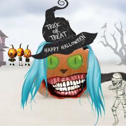 dailyremixit halloween creativemanipulationsbysuzannejoblonski freetoedit