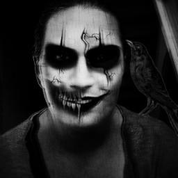happyhalloween2017 happyhalloween artisticportrait artisticselfie trickortreat scaryme freetoedit
