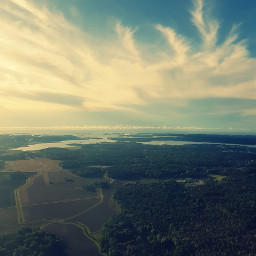 freetoedit landscape nature fromabove airplaneview
