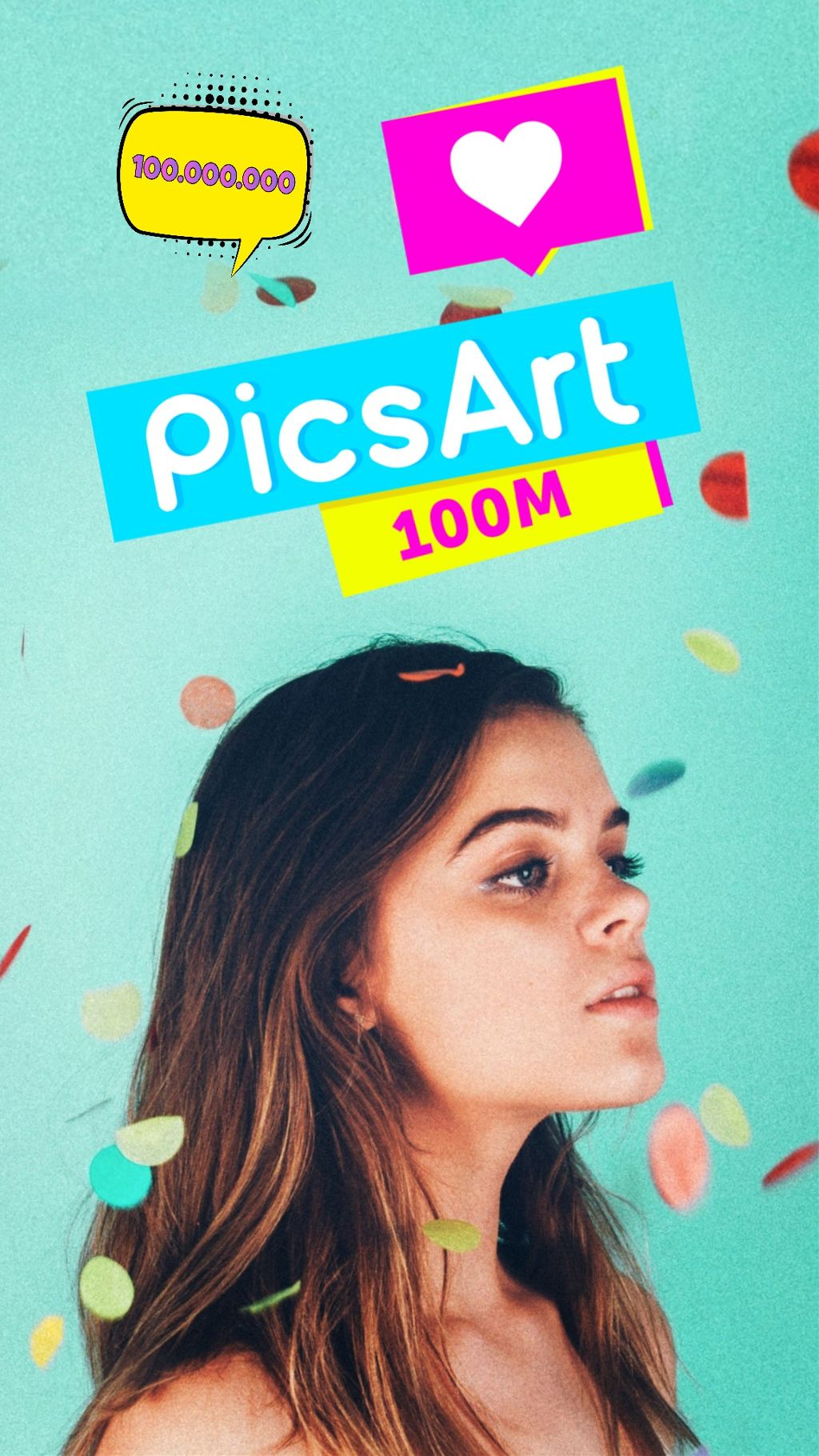 100M #picsart100million #madewithpicsart
