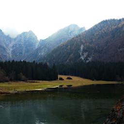 photography mountains hiking travel lake