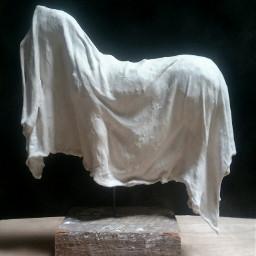 horse animalart plastersculpture