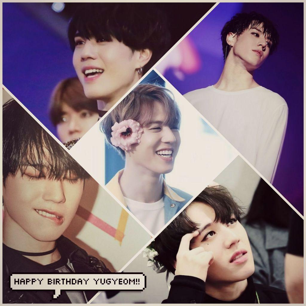 Yugyeom Yugyeomgot7 Got7 Birthday Collage Happybirthdayyugyeom Happyyugyeomday Got7yugyeom