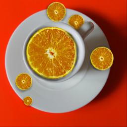 freetoedit vitamin-c happyweekend coffeecup oranges
