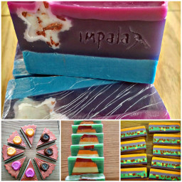 handmade artistic soap decoration elyapimi