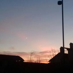 freetoedit sunset sky pink aesthetic