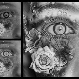 freetoedit blackandwhite eye edit workinprogress