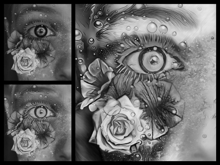 @bluedrop15 #blackandwhite #eye #edit #workinprogress #sequences #lovepicsart😙💙