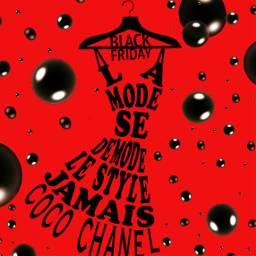 dailysticker blackfriday red fashion shop freetoedit