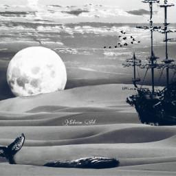 surrealism surreal nature remixit darkart freetoedit
