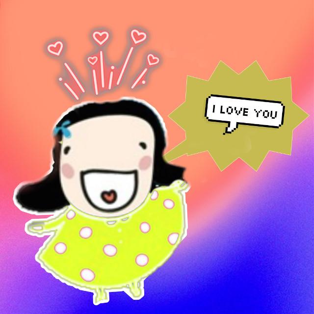 #iloveyou #mygirl #socute #dailysticker #iloveyousticker