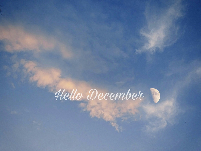 December #december #editedwithpicsart #sky