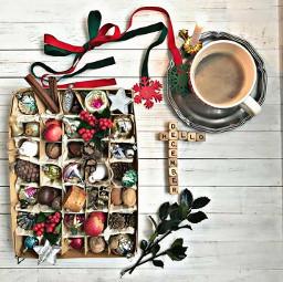 freetoedit coffee flatlay december hello