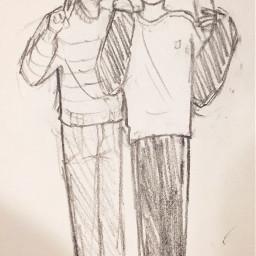 sketch doodle fanart bts illustration