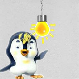 freetoedit remix focus pinguin light