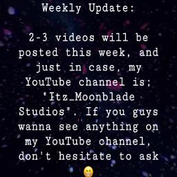 reminder weekly