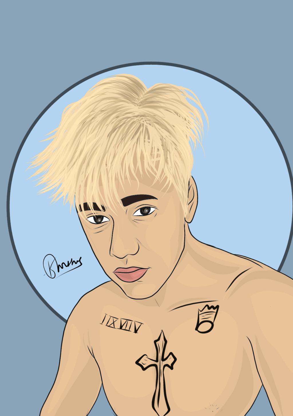 Justin Bieber And Belieber Cartoon
