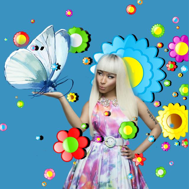 #nickiminaj #butterflysticker