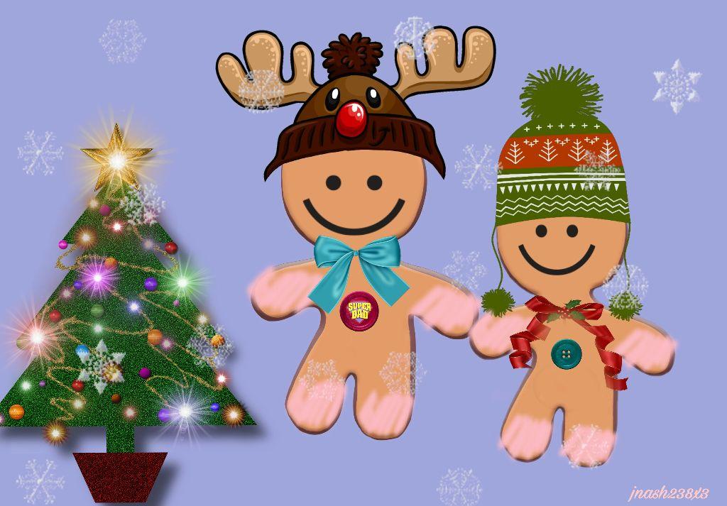 #dailyremix #gingerbreadman #christmastree #cute