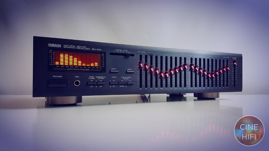 🎶 YAMAHA EQ-550 Graphic Equalizer 🎶 Pre amfi özellik